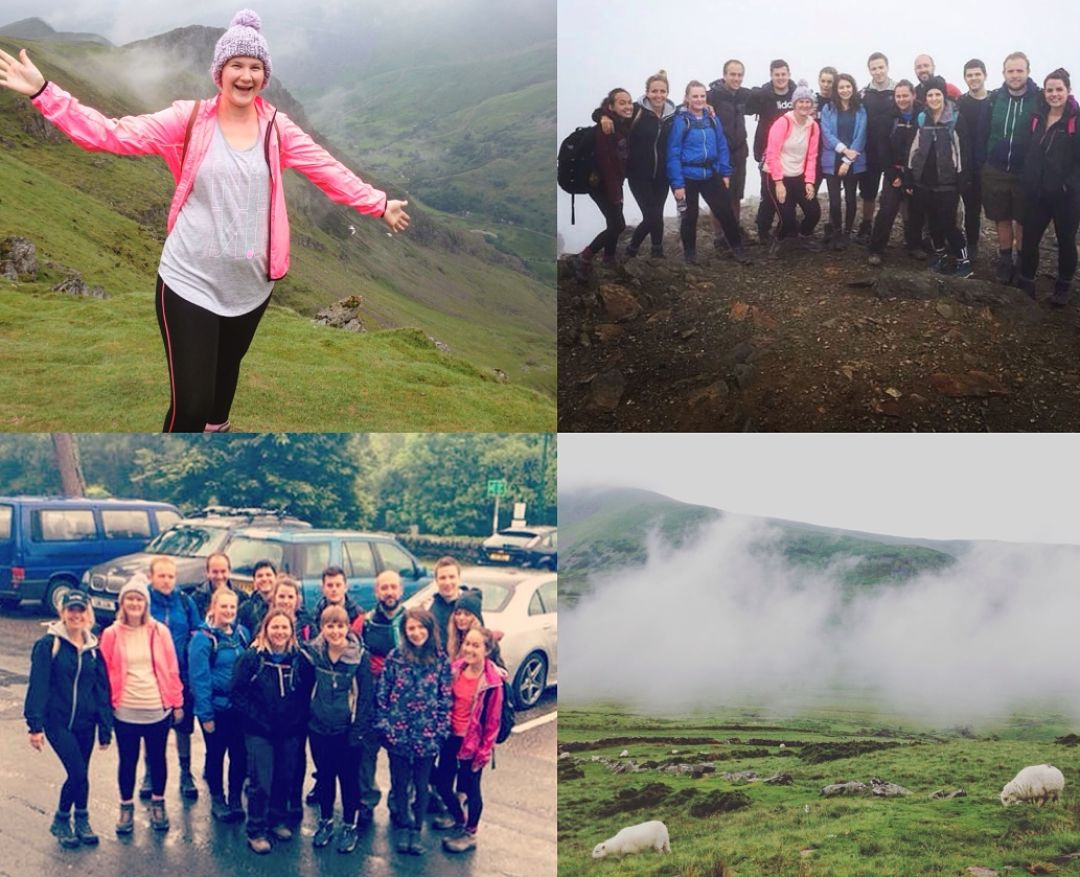 Zazzle Climb Snowdon for Cancer Research