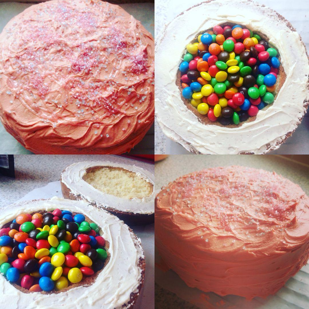 Recipe: Piñata Cake